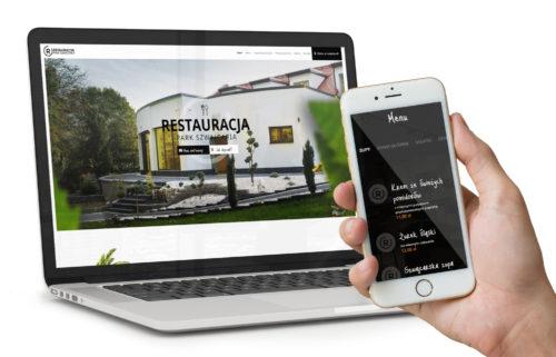 Restauracja Park Szwajcaria - Gliwice - projekt nowej strony www