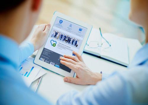 MARK-MED - projekt nowoczesnej strony internetowej dla przychodni, firmy medycznej
