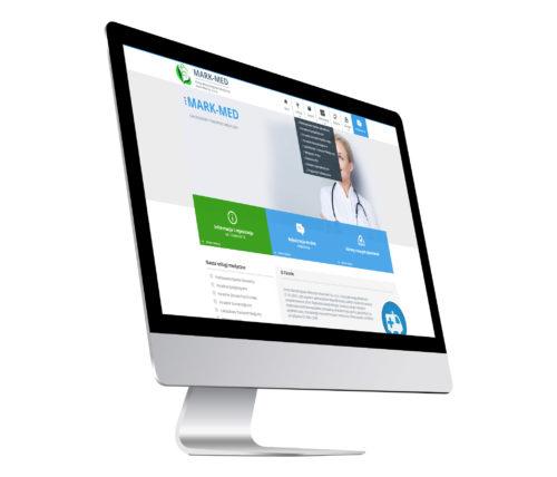 MARK-MED strona internetowa dla grupy przychodni