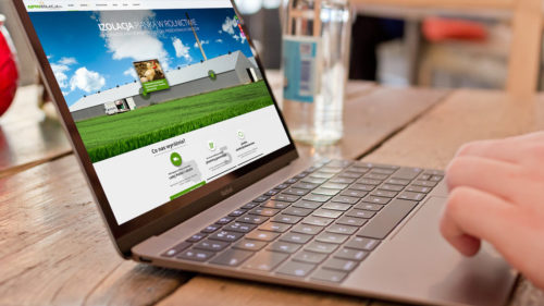 Agroizolacja - strona internetowa