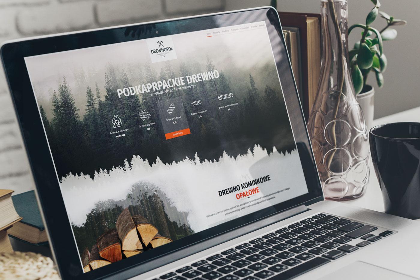 Drewnopol - projektowanie nowoczesnych stron internetowych, animacje, responsywność RWD, wizualizacje, wordpress