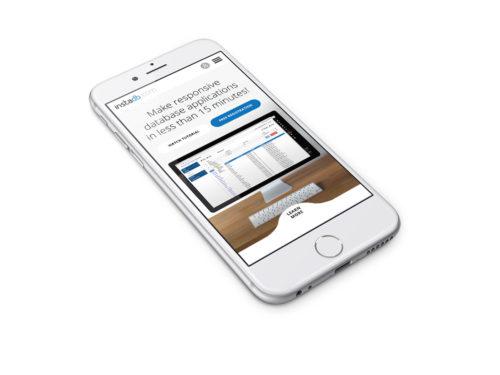 InstaDB - responsywna strona internetowa dla firmy Atinea