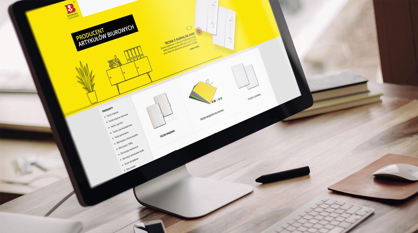 Zaprojektowanie strony internetowej dla firmy Barbara