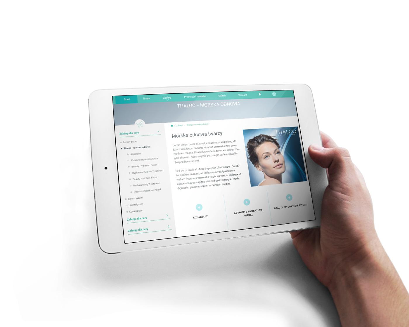Projektowanie stron internetowych Kalisz - salon urody Podarunek dla urody