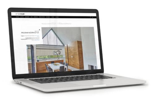 Meble Rust - wizualizacja nowej strony internetowej