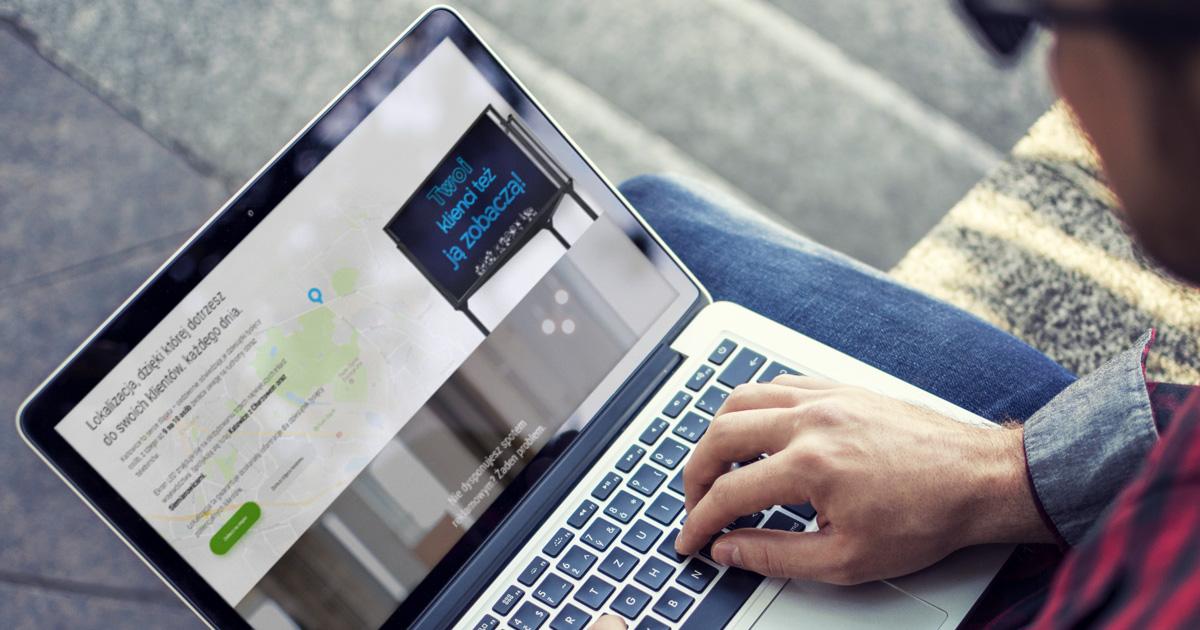 Wizualizacja strony internetowej Neox z Katowic, śląsk