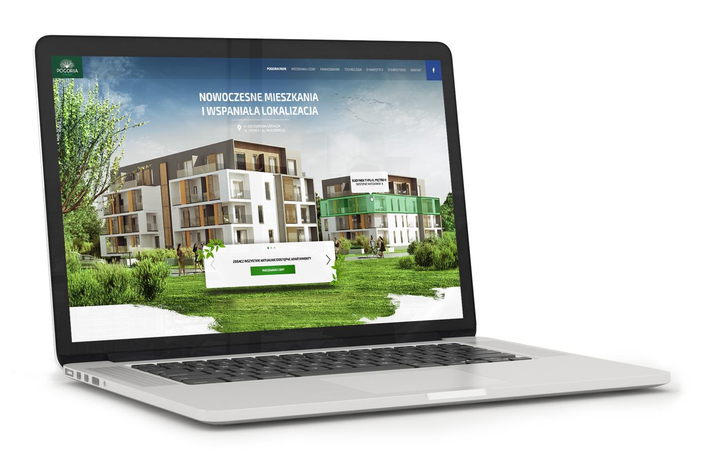 Pogoria Park Dąbrowa Górnicza - nowa strona internetowa