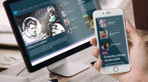 Noktomedia - nowy serwis w technologii RWD - responsywna strona internetowa