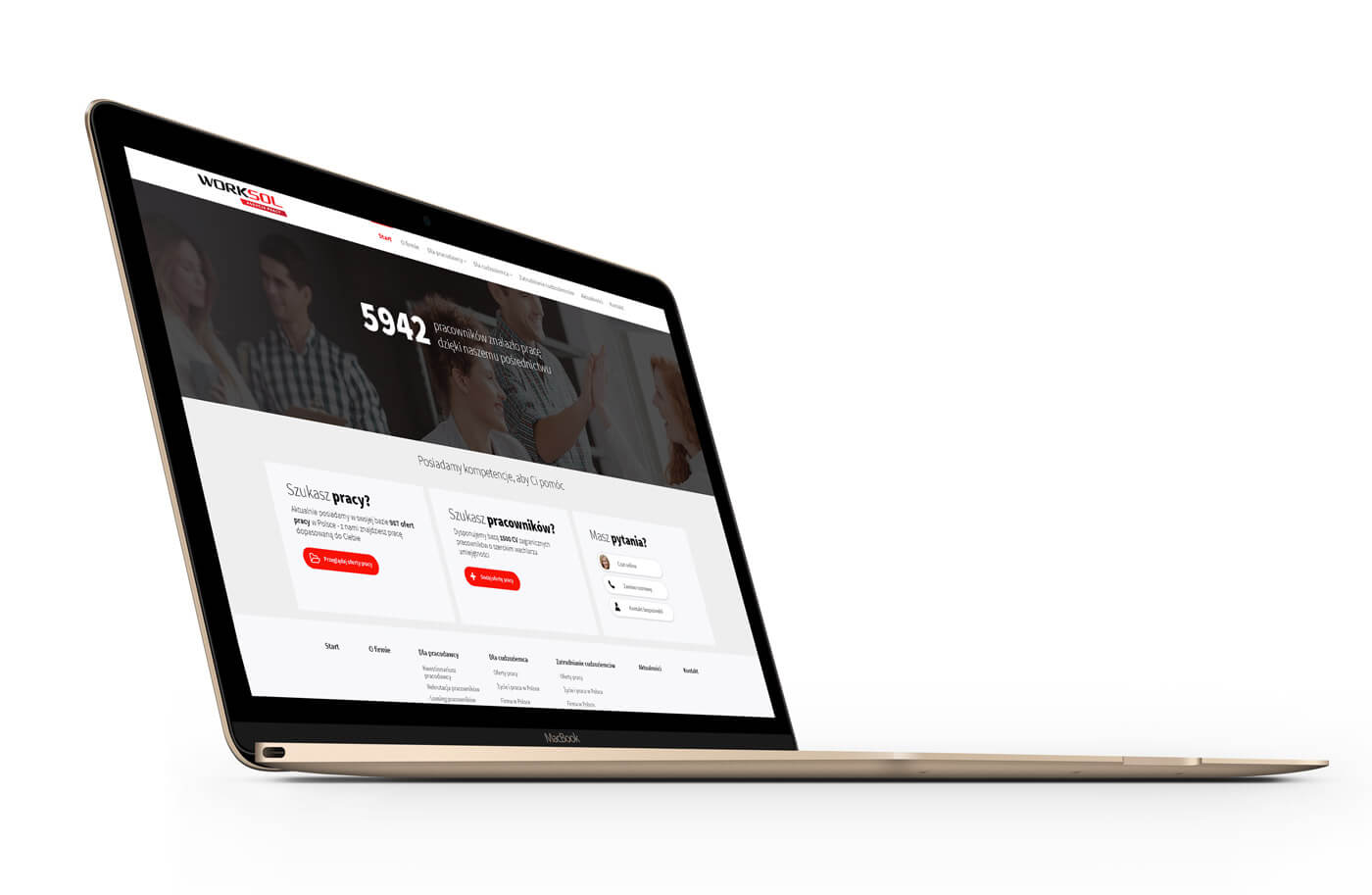 Worksol - nowy serwis internetowy