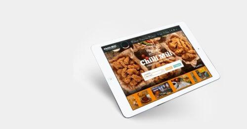 Chilli Mili - zapowiedź nowej strony sieci gastronomicznej
