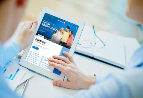 Strona internetowa Przychodnia Medicus Gliwice