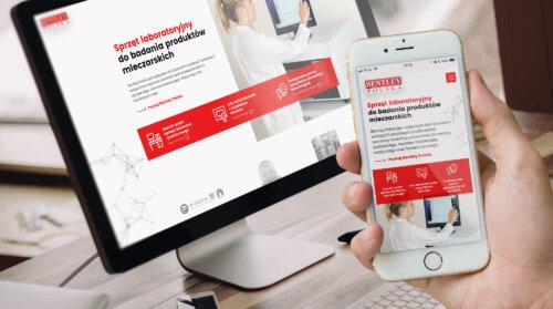 Nowa strona internetowa - sprzęt laboratoryjny do badania mleka i produktów mleczarskich - Bentley Polska
