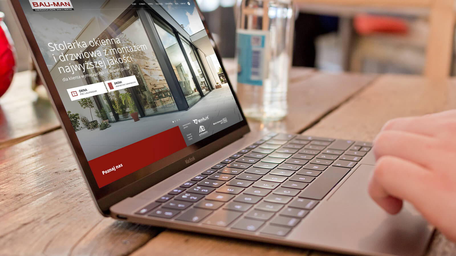 BAU-MAN - nowa strona internetowa: montaż okien, drzwi, rolet- Wrocław, Dolnośląskie