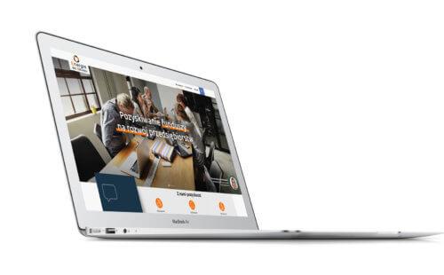 Energia dla biznesu - wizualizacja projektu nowej strony internetowej