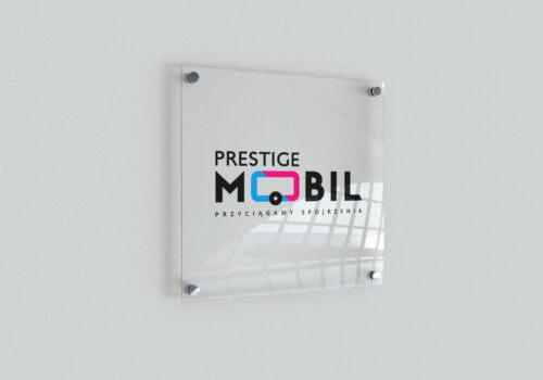 Prestige Mobil - tabliczka na ścianę