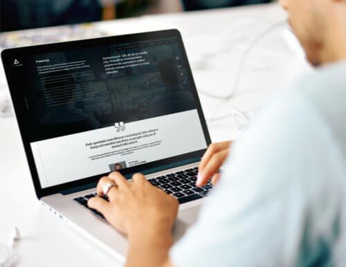 DELTAPRIME strona internetowa RWD, WordPress, CMS, unikalny projekt graficzny, autorska
