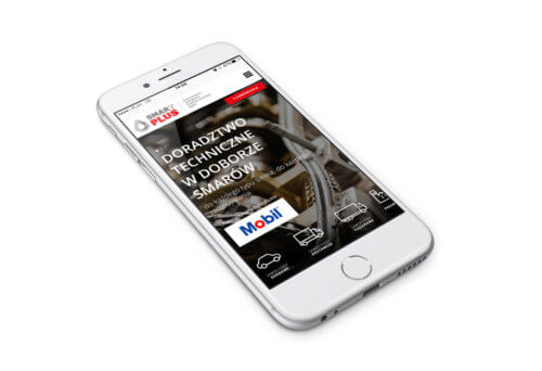 Wersja mobilna strony internetowej SmarTPLUS