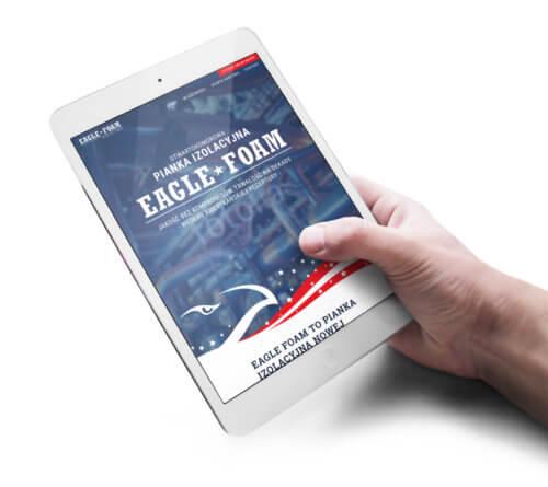 Eagle Foam strona internetowa projekt zgodny z RWD