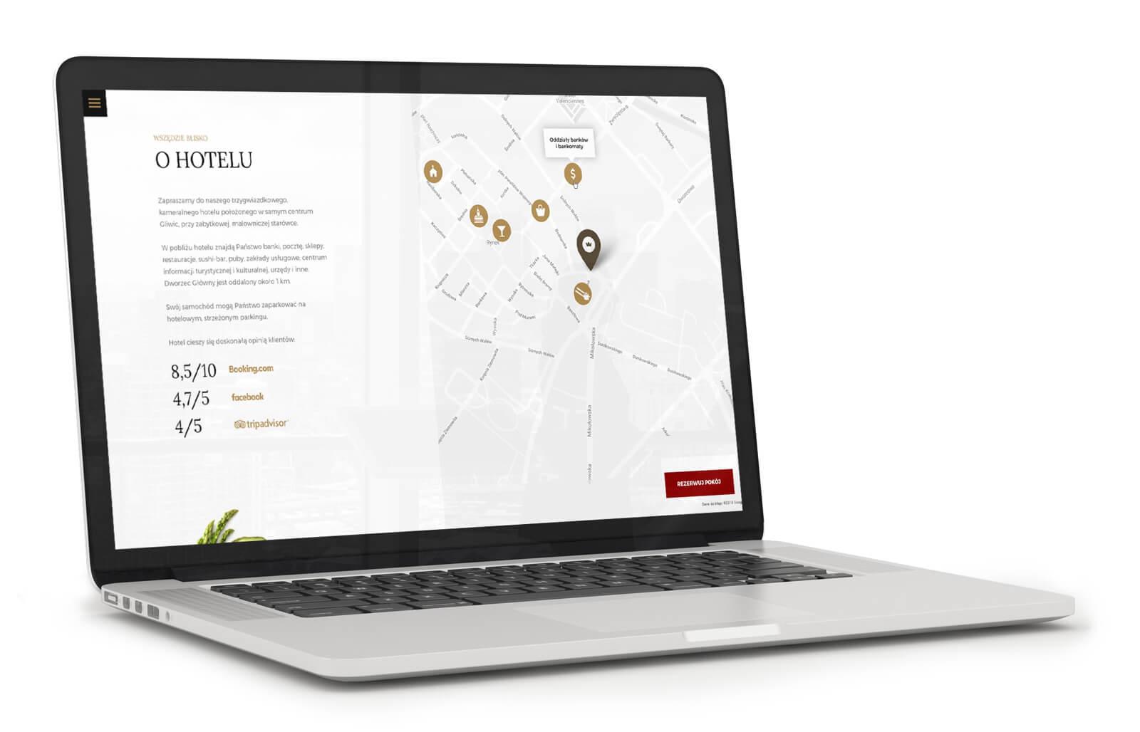 Hotel Royal nowa strona internetowa jest już w sieci