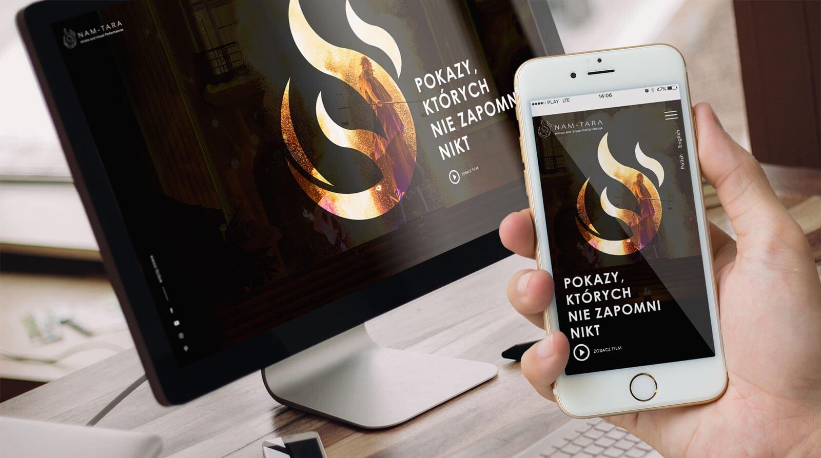 Nam Tara nowa strona internetowa pod doemną fireshow.pl