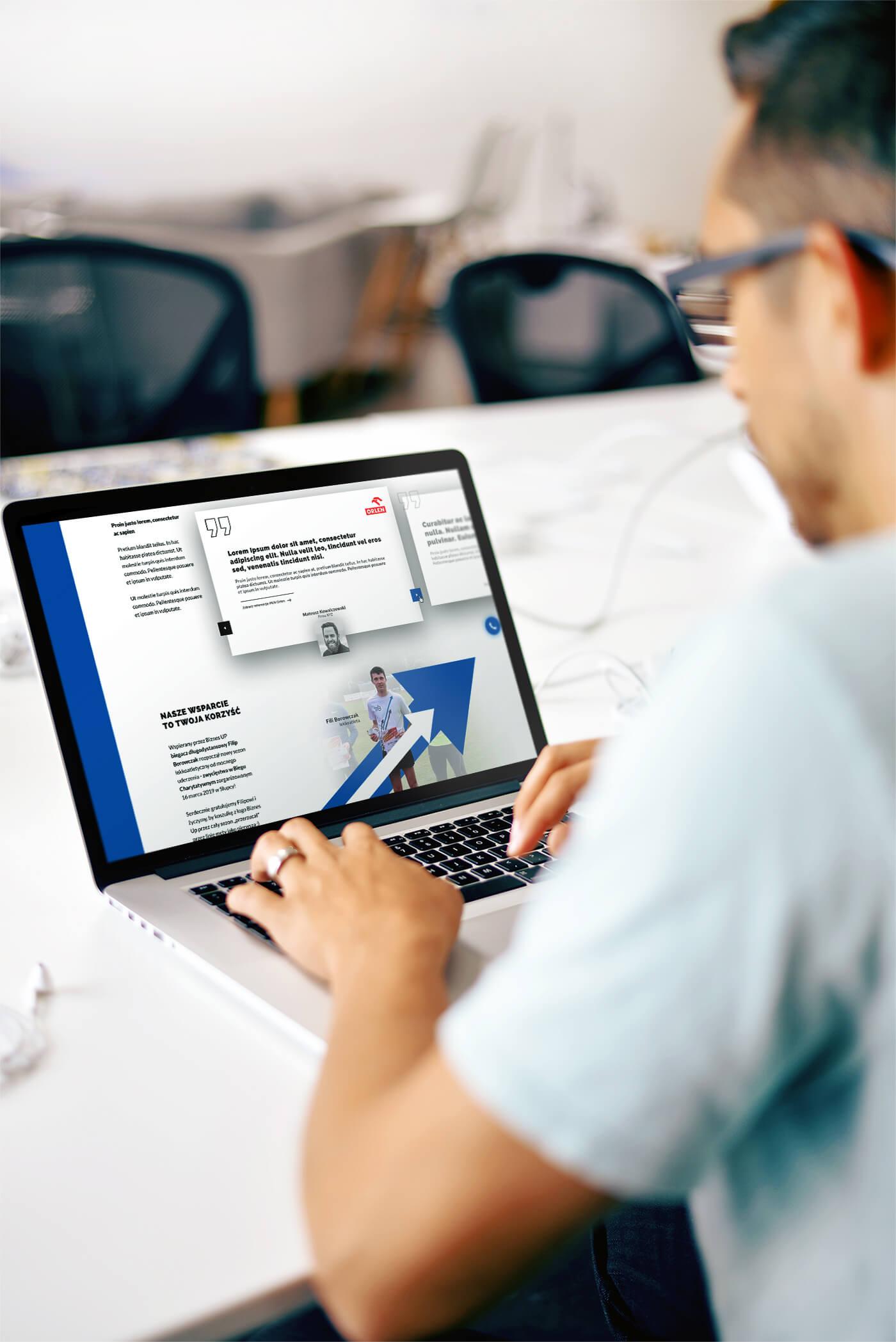 Biznes Up - strona www