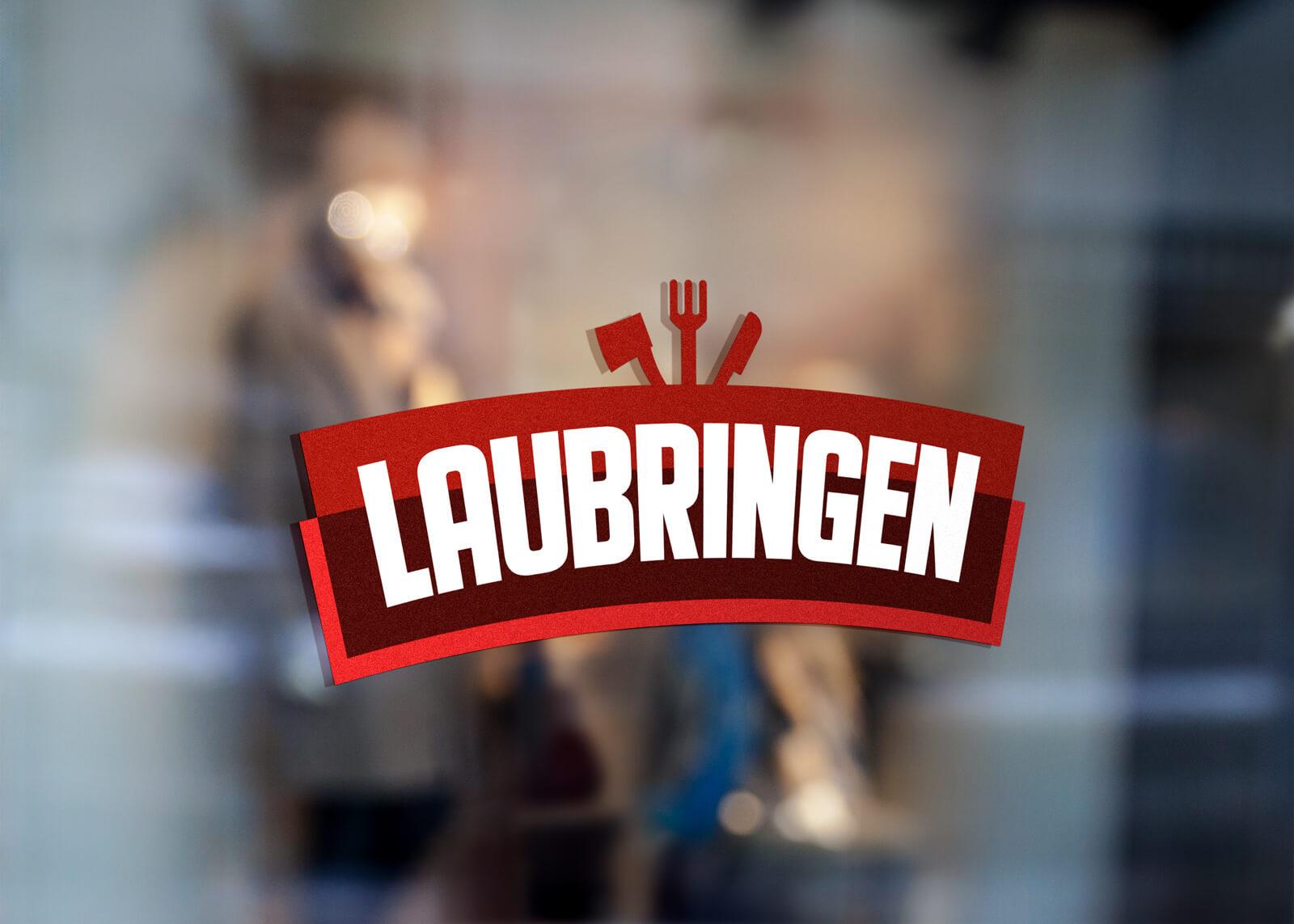 Projekt logo dla firmy Laubringen z Wieruszowa w województwie łódzkim