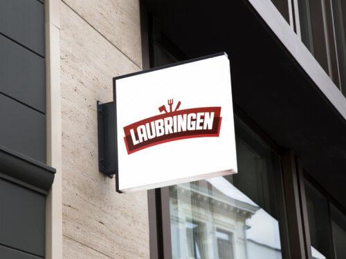 Wizualizacja projektu logo dla firmy Laubringen