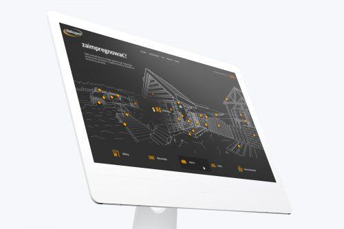 Dekspol - nowa strona internetowa, produkty dla przemysłu drzewnego