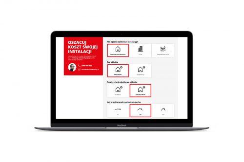 Helios fotowoltaika - projektowanie nowoczesnych stron internetowych landing page i one page