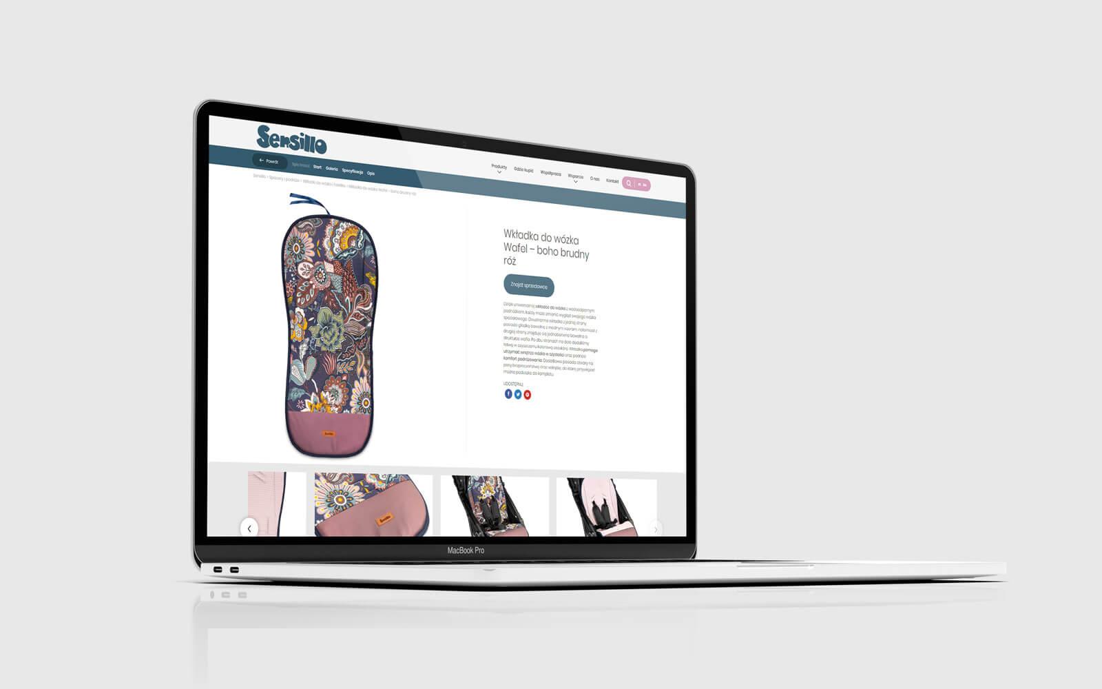 Sensillo ecommerce sklep internetowy